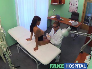 FakeHospital Doctors turn to get his hands full and his cock deep inside