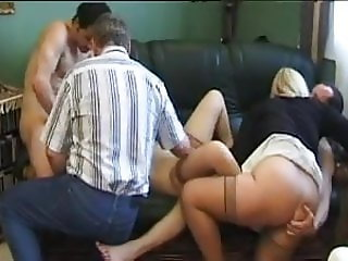 french mature with another and fench man