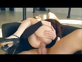 Hard fuck young girl in anal