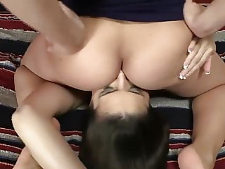 Lesbian face sitting and ass licking