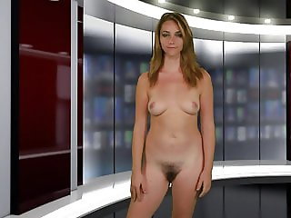 Naked News Audition: Christelle