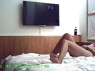 Hotel sex with creampie in cheating wifes pussy :)