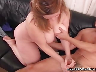 An Arousing Handjob