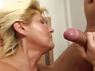 Granny Fucked Hard In Bathroom