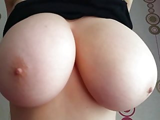 Milf With Huge Milk Melons (Slow Motion)