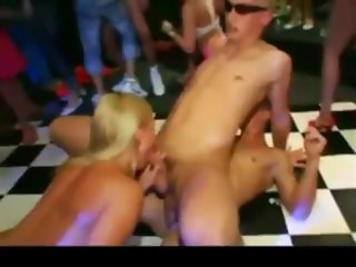 Bisex party at the club 2
