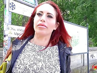 GERMAN SCOUT - REDHEAD MILF STACEY DEEP ANAL SEX AT CASTING
