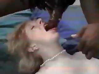 Granny Gets Fucked by Black Studs