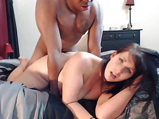 PAWG Rides A BBC