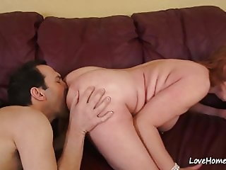 Licking her cunt and ramming it inside hard