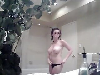 Step sister natural big tits hidden cam
