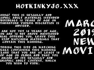 MARCH 2019  UPDATES Hotkinkyjo prolapse giant dildos fisting
