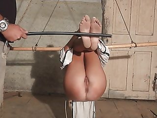 Casting -slave tortured with bastinado