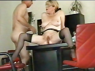 Office boss secretary orgasm