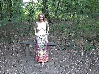 Joleen - Dressed But Getting Naked in Nature