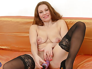 Hot MILF Audrey with amazing tits and perfect body