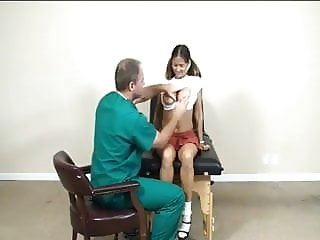 Hot Wife Rio visits the doctor for a creampie