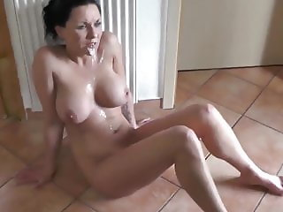 Shameless Cougar MILF with Big Tits Hard Fucked By Teen Boy