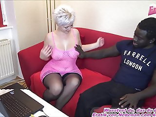 german blond housewife fingering and fuck homemade by bbc
