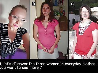 Make your choice #4 : which of these 3 women would you fuck?