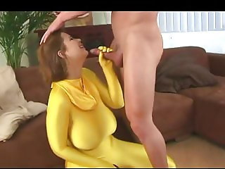 Terry Huge Saggy Tits Fucked In Spandex Bodysuit