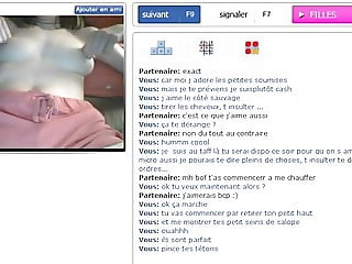 Perfect french girl plays with pussy on cam