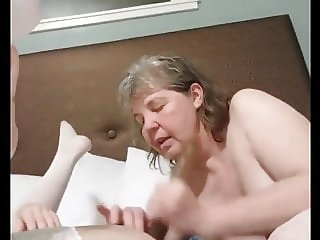 Super hot Mom and daughter have fun old and young