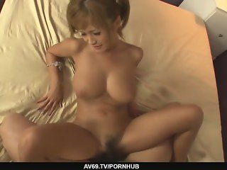 Dirty blond porn star pussy fondled and stretched
