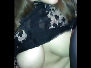 Fucking and cumming on my Arab wife while she screams