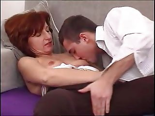 ATTRACTIVE OLD LADY FUCKING WITH YOUNG BOY
