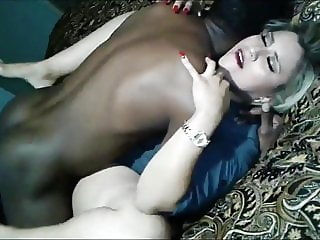 husband films bbc creamping her wife's tight pussy