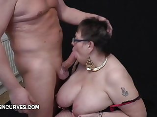 Busty Honey does her big cock porn audition