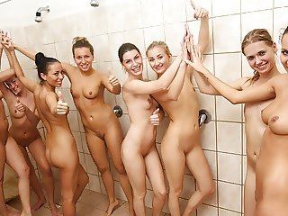 World Cup Team Shower Scene