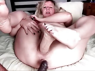 Anal train and double dildo