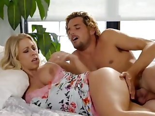 crazy busty blonde bitch having a real orgasm with neighbor