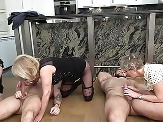 Old Wrinkly Sluts Enjoy Their Last Orgy