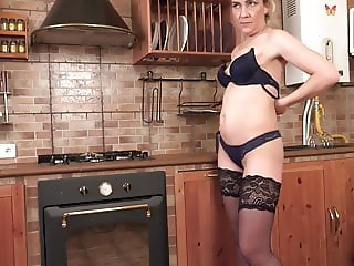 Mother and small tit daughter fucks lucky guy
