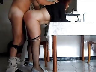 italian amateur couple