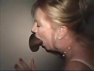 Classy Mature at the Glory Hole