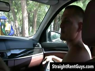 Hot hetero hunks without money go gay part3