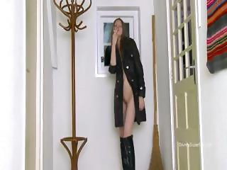 gag witch in high black boots