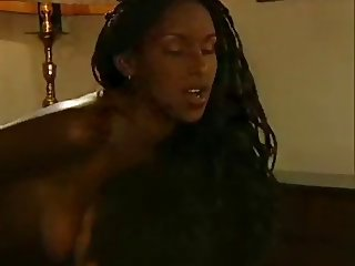 Hot Ebony Sex Massage
