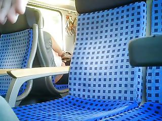 masturbation in train