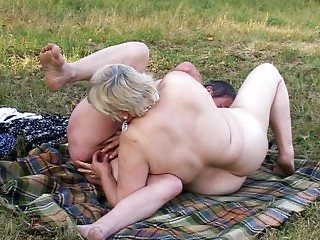 Granny pussy masturbation day trip into the green