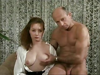 Hairy Helene Watches Porn