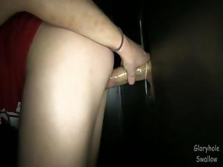 Gloryhole Swallow Haley4