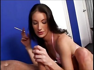 Smoking Fetish - Smoking HJ compilation