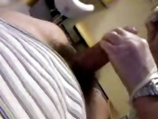 Real female doctor Dick Exam