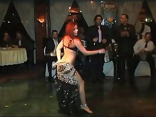 Alla Kushnir sexy Belly Dance part 10
