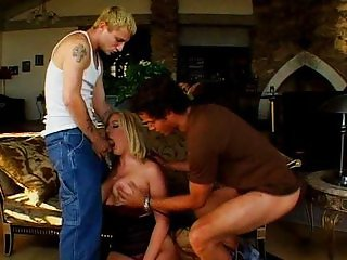 Hot blonde pussy slammed roughly